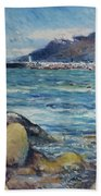 Lighthouse At Kalk Bay Cape Town South Africa 2016 Beach Towel
