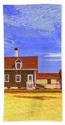 Lighthouse Cape Cod Beach Towel