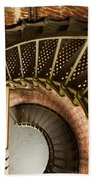 Lighthouse Stairs Cape Blanco Oregon 2 Beach Towel