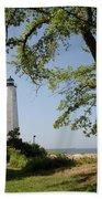 Lighthouse Summer Beach Towel