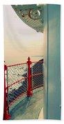 Lighthouse View Beach Sheet