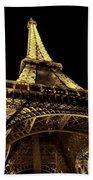 Lighting The World Of Paris Beach Towel