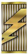 Lightning Bolt Beach Sheet