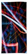 Lights Abstract6 Beach Towel