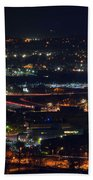 Lights Across Birmingham Beach Towel