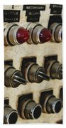 Lights And Switches Beach Towel
