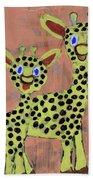 Lil Giraffes Beach Towel