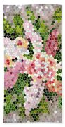 Lilac Bouquet II  Beach Towel