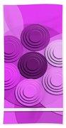 Lilac Bouquet Beach Towel