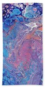 Lilac Grove Beach Towel