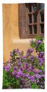 Lilacs And Adobe Beach Towel