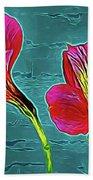 Lilies 18-10 Beach Towel