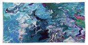 Lilies Beach Towel