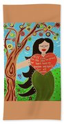 Lilith II Beach Towel