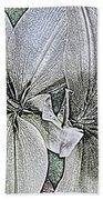 Lillies Beach Towel