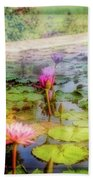Lillie's Of Capistrano Beach Towel by Michael Hope