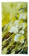 Lilly Of The Valley Beach Towel