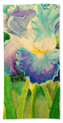 Lily Flower  Beach Towel