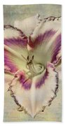 Lily For A Day Beach Towel