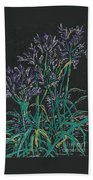 Lily Of The Nile  Beach Towel