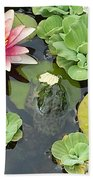 Lily Pad Lunch Beach Towel