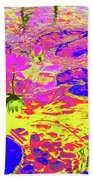Lily Pads And Koi 11 Beach Towel