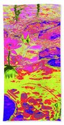 Lily Pads And Koi 18 Beach Towel