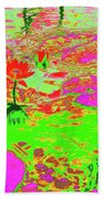 Lily Pads And Koi 19 Beach Towel
