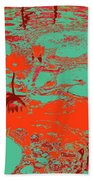 Lily Pads And Koi 35 Beach Towel