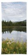 Lily Pond - White Mountains New Hampshire Usa Beach Sheet