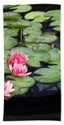 Lily Pond Monet Beach Towel