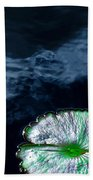 Lilypads And Sky Reflections Beach Towel