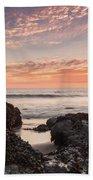 Lincoln City Beach Sunset - Oregon Coast Beach Towel