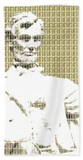 Lincoln Memorial - Gold Beach Towel
