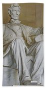 Lincoln Statue Beach Towel