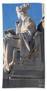 lincoln statue Gettysburg PA Beach Towel