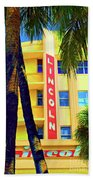Lincoln Theatre - Sobe Beach Towel