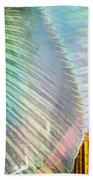 Linen Astract Beach Towel