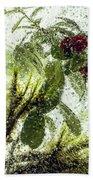 Lingonberry Beach Towel
