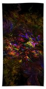 Lion Aura Beach Towel