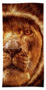Lion Lady   -1 Beach Towel