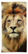 Lion Majesty Beach Towel