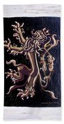 Lion Rampant Beach Towel