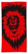 Lion Roar Beach Towel