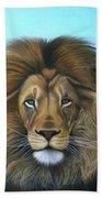 Lion - The Majesty Beach Towel
