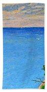 Lions Den Lake Michigan Beach Towel