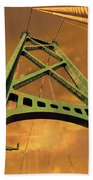 Lions Gate Bridge Tower Beach Towel