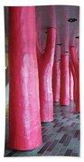 Lipstick Forest 2 Beach Towel