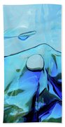 Liquid Abstract  #0059 Beach Towel