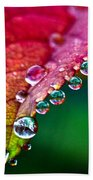 Liquid Beads Beach Towel